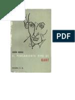 Pensamiento vivo Kant