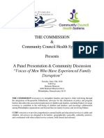 the commission and community council health systems june 12th panel presentation and community discussion final final