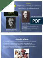 Neoliberalismo e Keynesianismo