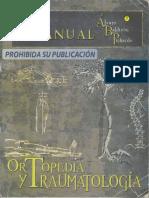 Manual ABP de Ortopedia y Traumatologia