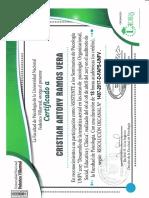 Certifica Do Unf V