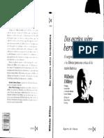 Dos Escritos Sobre Hermeneutica Wilhelm Dilthey