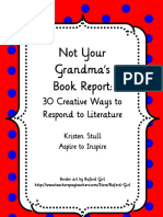 creative ways to do book reports