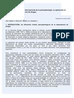 El Enfoque Modular-Transformacional de La Psicopatología_ Su Aplicación Al Problema de La Dependencia de Drogas