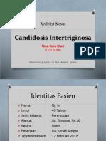 Candidosis Intertriginosa (Refka 1)