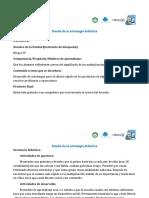 Texto Plantilla Para Estrategia Didáctica