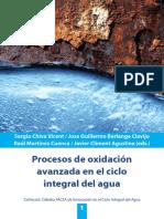 CHIVA, S. Et Al. Procesos de Oxidación Avanzada en El Ciclo Integral Del Agua. Universitat Jaume. Castellon, España, 2017
