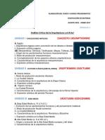 Ejemplo Planeación Del Curos y Avance Programatico (Fechas)