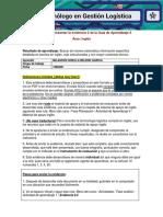 """Evidencia 3 Cuadro Comparativo """"Indicadores de Gestión Logísticos"""""""