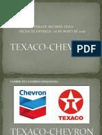 Texaco Chevron Conflicto en el Ecuador