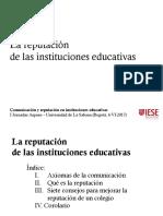 Reputación de Las Instituciones Educativas - Bogotá 20170606 (1)