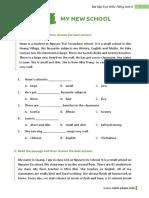 Bài Tập Reading Tiếng Anh 6 Thí Điểm - Unit 1 - Minh Pham