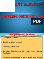 Credit Session 2 Sampling Distribution