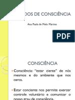 Processos Psicológicos Básicos - ESTADOS DE CONSCIÊNCIA