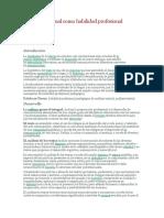 El Análisis Textual Como Habilidad Profesional Pedagógica