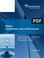 Water Compliance and Enforcement a Special Report
