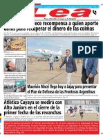 Periódico Lea Viernes 17 de Agosto Del 2018