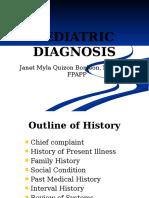 Pediatric Diagnosis Ped