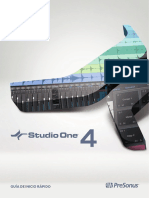 Studio One 4 Quick Start Guide ES