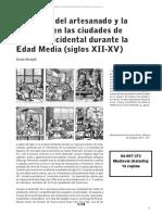 04007372 - Menjot - El Mundo Del Artesanado y La Industria