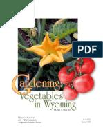 Gardening in Wyoming
