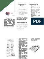 Leaflet Gangren Diametikum