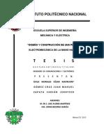DISEÑO Y CONSTRUCCIÓN de Una Mano Electromecanica
