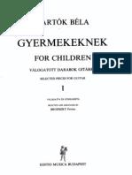 Bartok Gyermekeknek Tr Brodszky