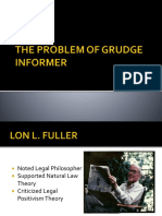 The Problem of Grudge Informer