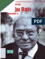 Halil İnalcık - Makaleler 2 (doğu-batı)++.pdf