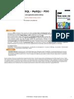 PHP et MYSQL - MySQLi - PDO Construisez votre application - 2eme Edition.pdf