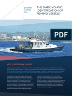 THE MARKING AND   IDENTIFICATION OF   FISHING VESSELS