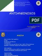 Antianginosos. Medicina. UNMSM 2018
