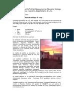 Informe, Santiago de Tuna
