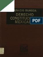 Derecho constitucional - Burgoa.pdf