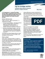 Fact Sheet – Piling for bridge works