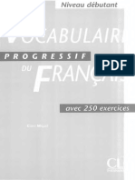 Vocabulaire Progressif Du Francais Debutant (livre +corriges)_text