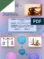 Equidad y Justicia (Tania Yareli)