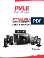 Pyle PT7986BA