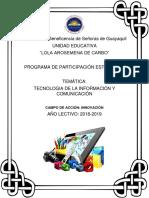 Proyecto Participacion Tecnologia de La Informacion y Comunicacion