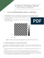 TD Optique Coherente