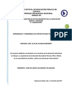 Ensayo Final EST 196- Hacia Educación Intercultural