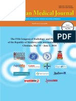The Moldovan Medical Journal Vol 61 Mai