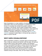 Top 10 Data Visualisation Tools