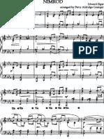 Elgar, Edward - Grainger - Nimrod (Piano)