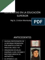 INFLUENCIA DE LOS JESUITAS EN LA EDUCACIÓN SUPERRIOR.pptx