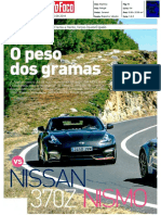"NOVO ALPINE A110 FRENTE AO NISSAN 370Z NISMO NA ""AUTO FOCO"""