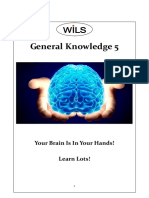 General Knowledge 5 Middle School