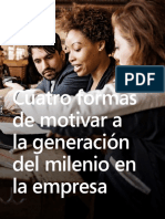 4 Formas de Motivar La Generacion Millenials
