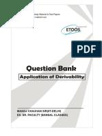 Question Bank AOD by mc sir etoos
